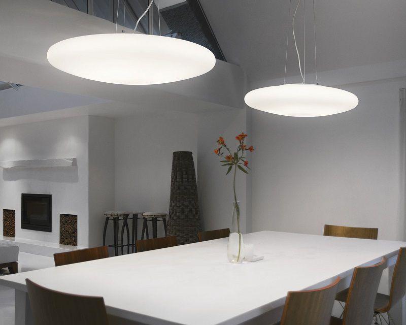 Smarties Ideal Lux Lampadario Bianco Da Cucina Lightinspiration It