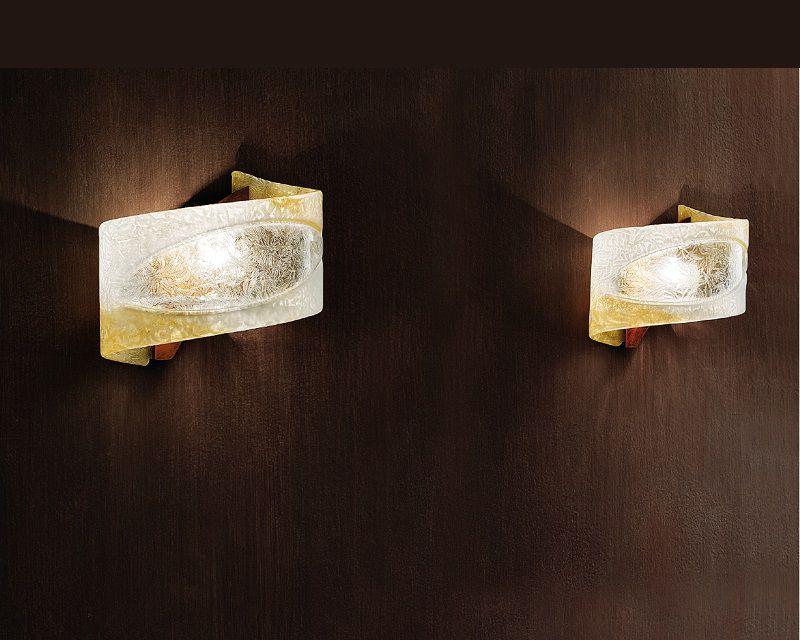 Atene G Sil Lux Applique Classica Vetro Murano Lightinspiration It