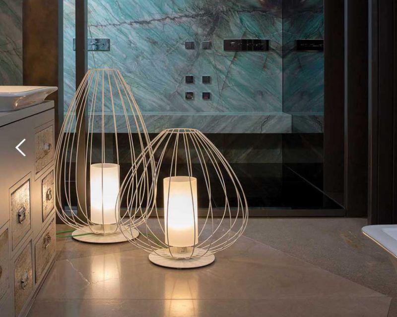 Cell karman lampada da terra tavolo di design lightinspiration.it