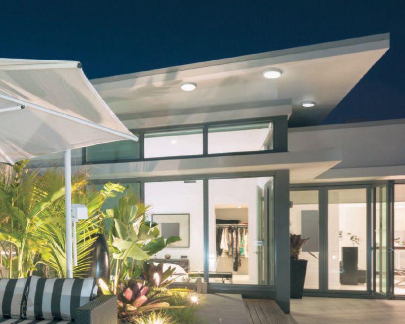 Plafoniere Per Esterni Design : Double vivida plafoniera led illuminazione per esterni