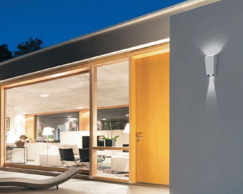 Lampade Da Parete Per Esterni : Laser vivida applique led per esterni lampade led