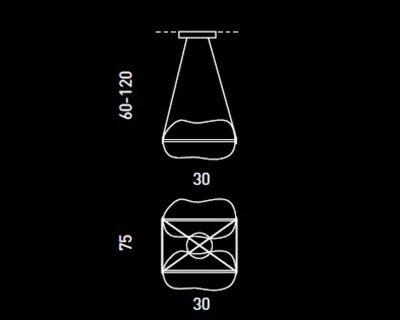 bom-bon-sillux-sospensione-led-2-luci-tecnica