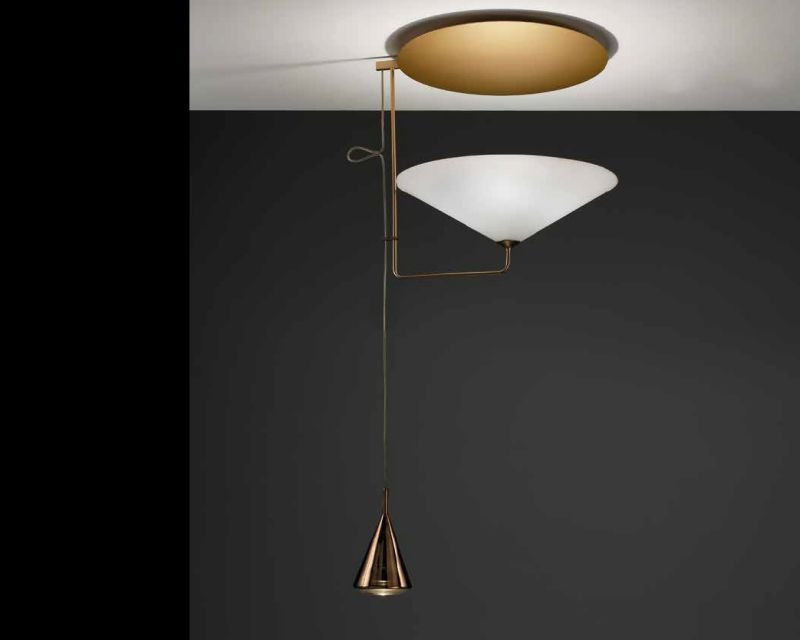 Plafoniere Con Lampade Led E27 : Kalì sil lux plafoniera led di design lightinspiration