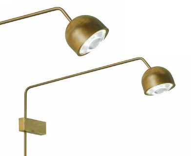 pix-sillux-applique-led-orientabile-da-parete-ottone