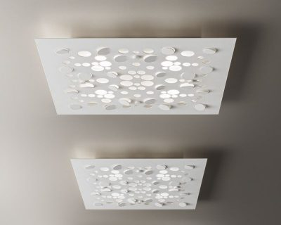 Plafoniera Quadra Led 108 : Plafoniere e lampade a soffitto led lightinspiration