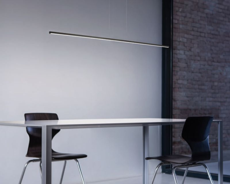 Straight p1 linealight sospensione led lightinspiration.it