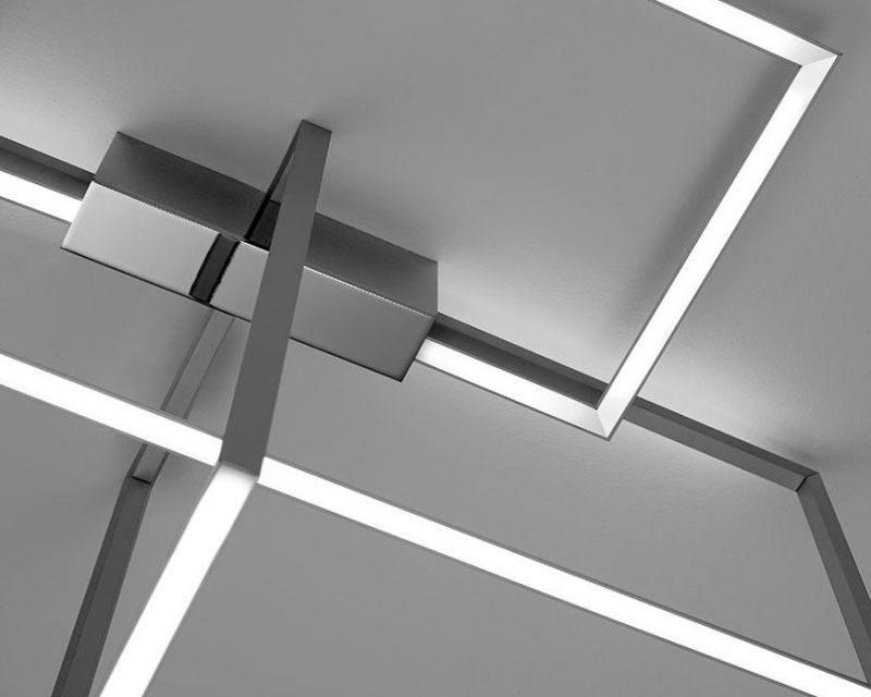 Lampade A Soffitto Led.Area Sforzin Lampada Da Soffitto Led Di Design