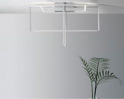 area-sforzin-lampada-led-soffitto-di-design-grigia
