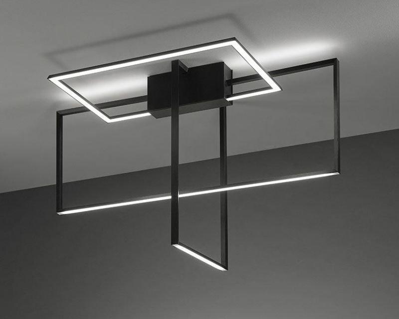 Plafoniera Led Soffitto Design : Area sforzin plafoniera led di design lightinspiration
