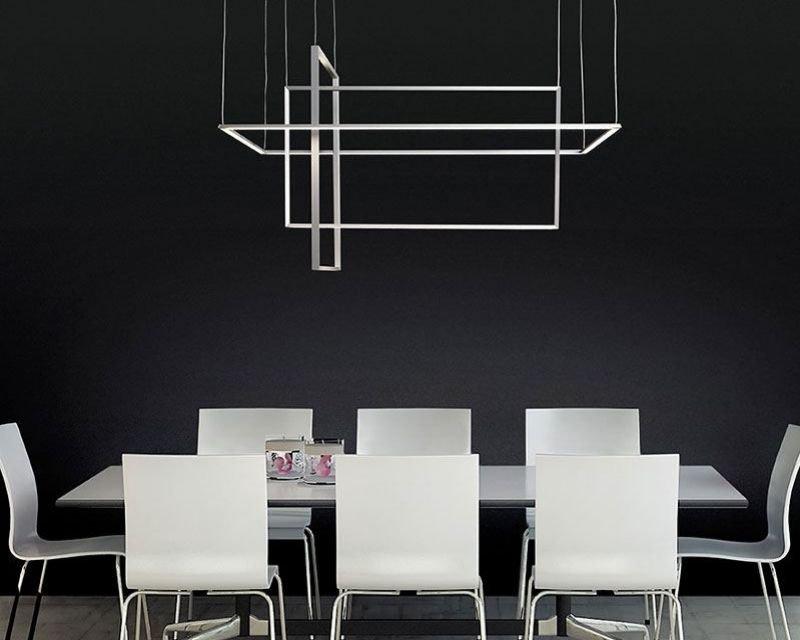 Area sforzin lampadario led di design lightinspiration.it