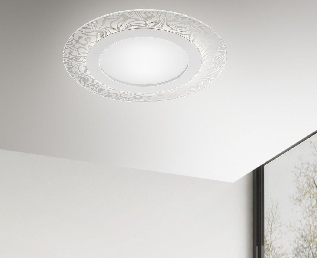 Plafoniere Con Lampade A Risparmio Energetico : Bloom antealuce sospensione led moderna lightinspiration