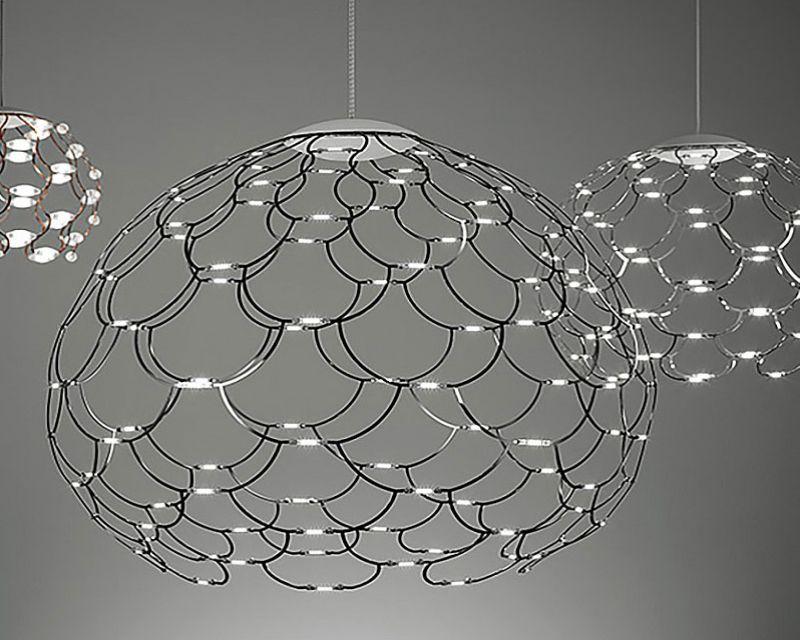 Lamoi sforzin lampadario led di design lightinspiration