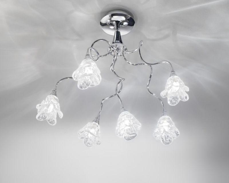 Plafoniere In Cristallo Molato : Magnolia antealuce plafoniera classica lightinspiration