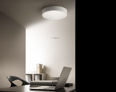 Plafoniere Tonde A Led : Vpl02 24 24w vivida plafoniera led tonda lightinspiration.it