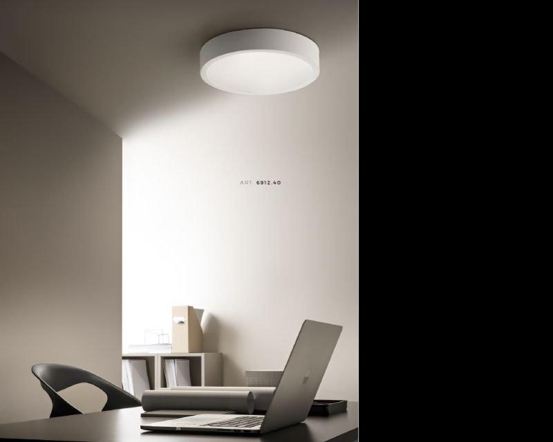 Plafoniera Ufficio Design : Ring antealuce plafoniera led dimmerabile lightinspiration