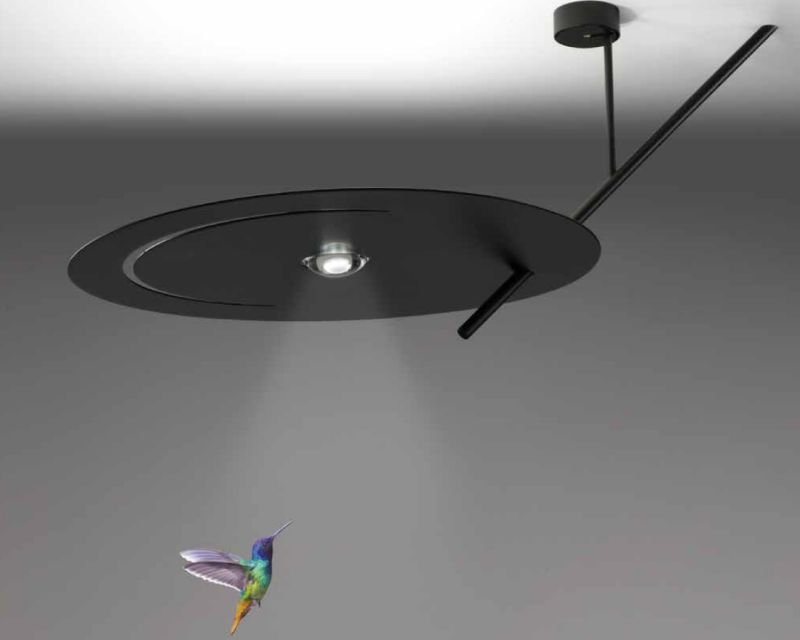 Smile sil lux lampada led soffitto di design lightinspiration