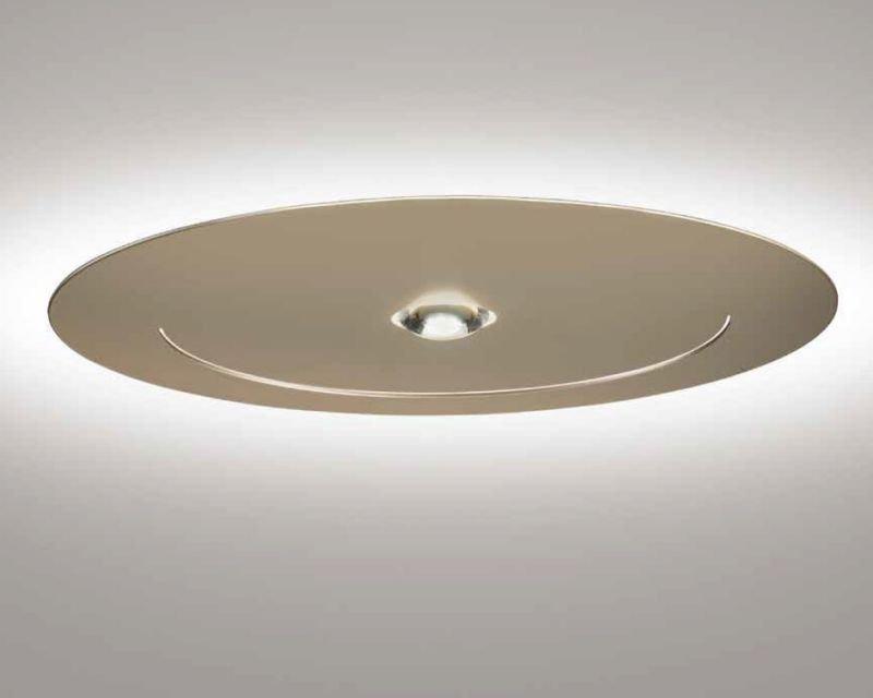 Plafoniere Led Grandi Dimensioni : Smile sil lux plafoniera led di design lampade