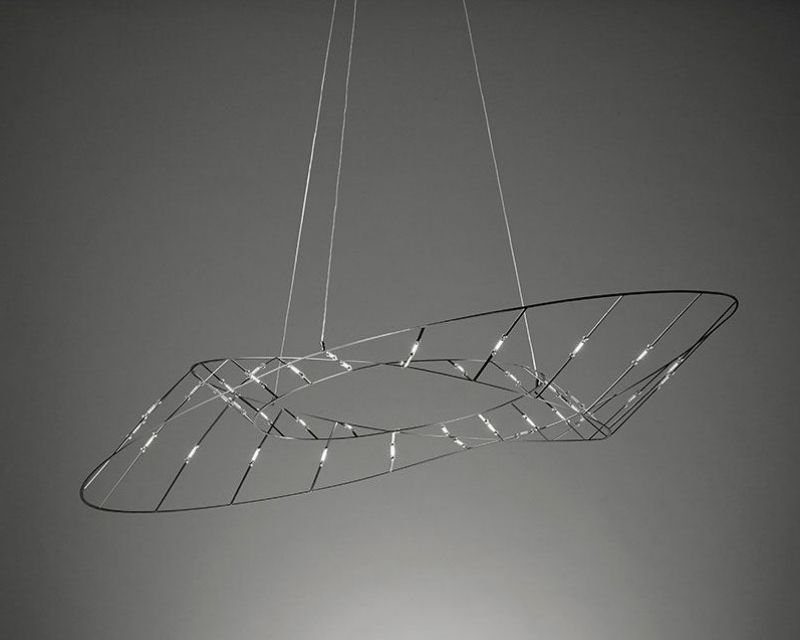 Tesa sforzin lampadario led di design lightinspiration.it