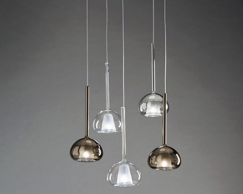 Lampadari In Vetro Soffiato.Beba Sforzin Lampadario In Vetro Soffiato Lightinspiration It