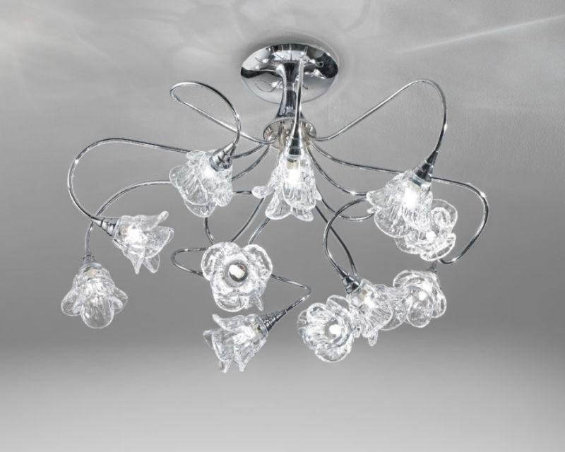 Plafoniere Classiche In Cristallo : Magnolia antealuce plafoniera classica lightinspiration