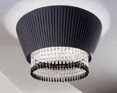 Plafoniera Tessuto Grande : Paolina antealuce lampada da soffitto classica lightinspiration.it