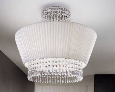 paolina-antealuce-sospensione-classica-bianca-in-tessuto-e-cristallo