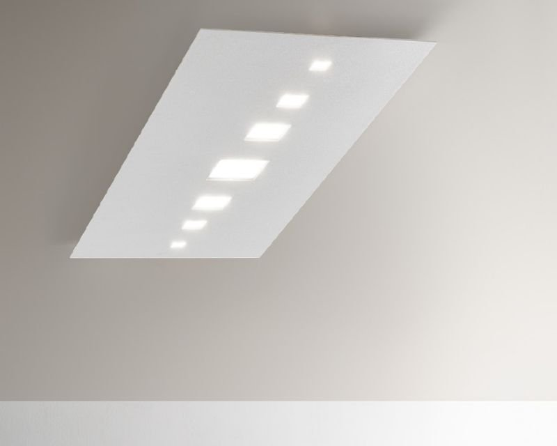 Plafoniera Rettangolare Led : Time antealuce plafoniera led moderna lightinspiration