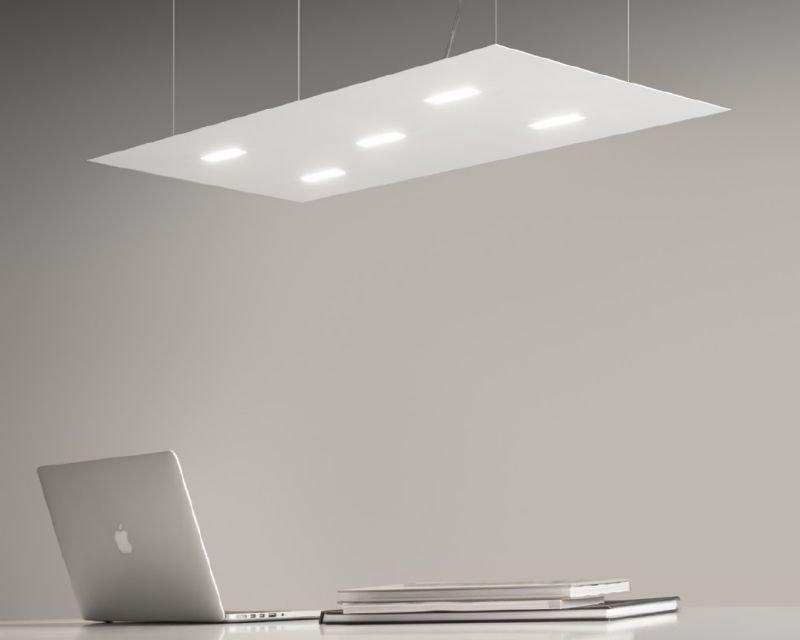 Plafoniera Ufficio Design : Tratto antealuce plafoniera led moderna lightinspiration