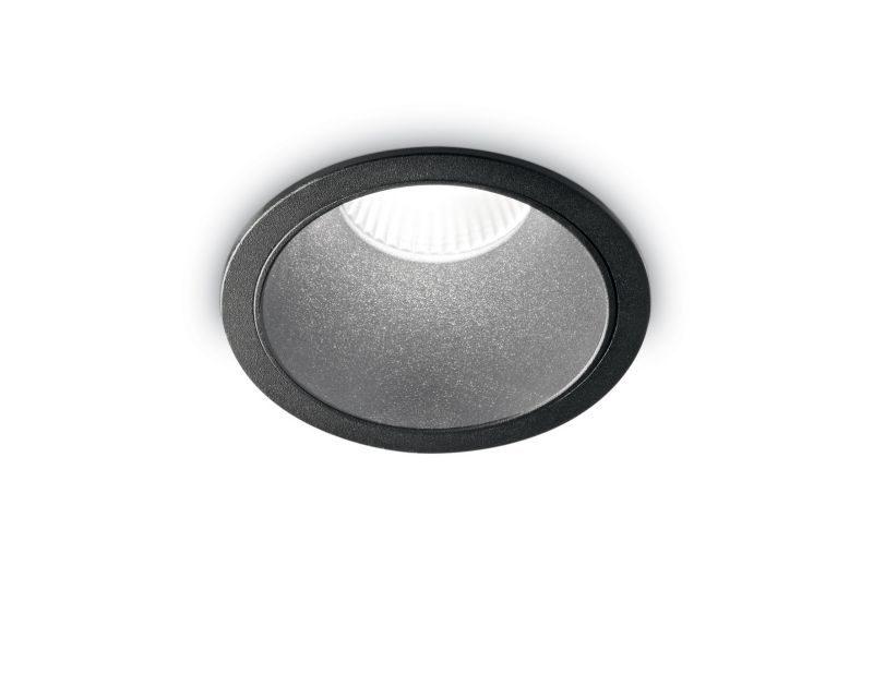 game-round-ideallux-faretto- da -incasso- tondo-grigio