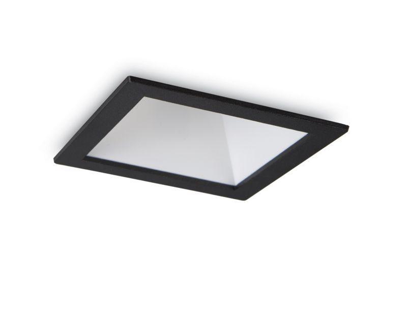 game-square-ideallux-faretto-da-incasso-quadrato-grigio