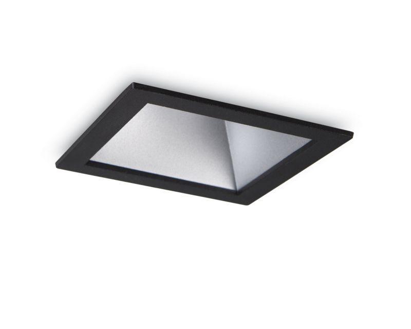 game-square-ideallux-faretto-da-incasso-quadrato-silver