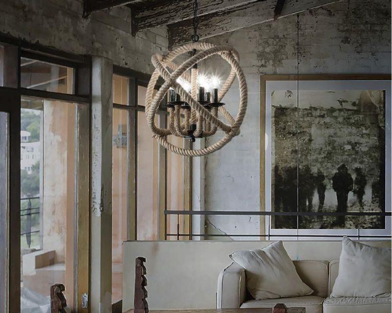 Corda ideal lux sospensione country lightinspiration