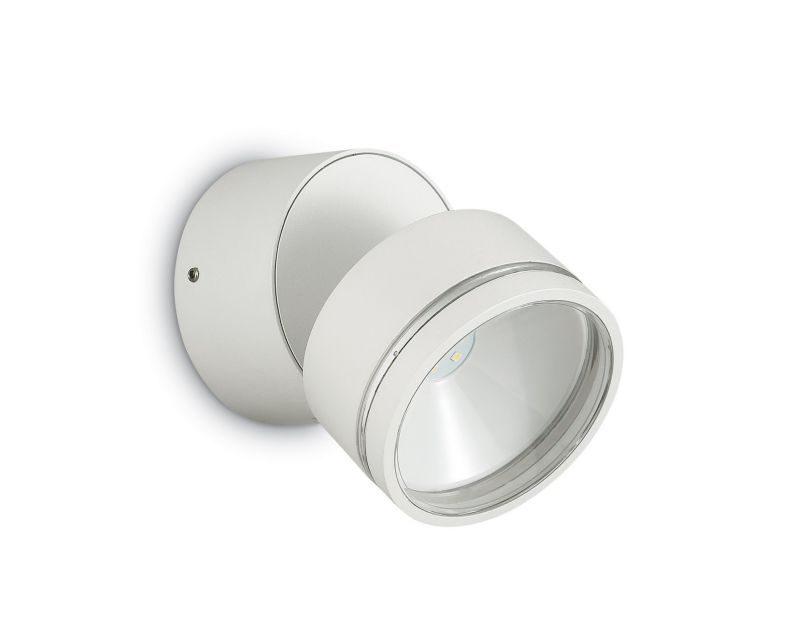 omega-round-ideallux-lampada-da-parete -bianco