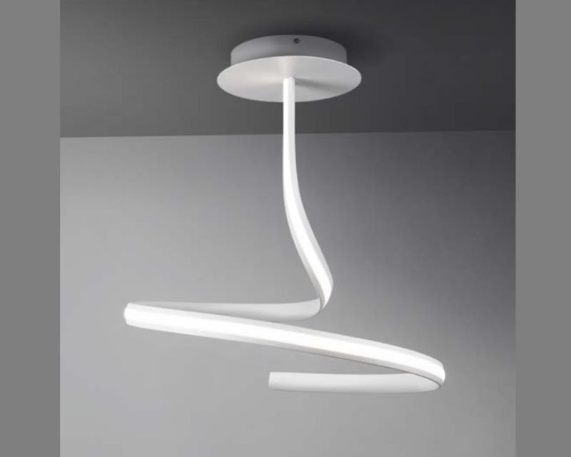 Plafoniera Led Soffitto Rotonda : Plafoniera da soffitto a led watt lampadario