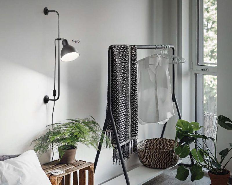 Shower idea lux lampada da parete orientabile lightinspiration