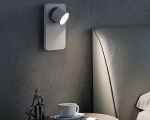 Beebo applique led orientabile bianca linealight lightinspiration