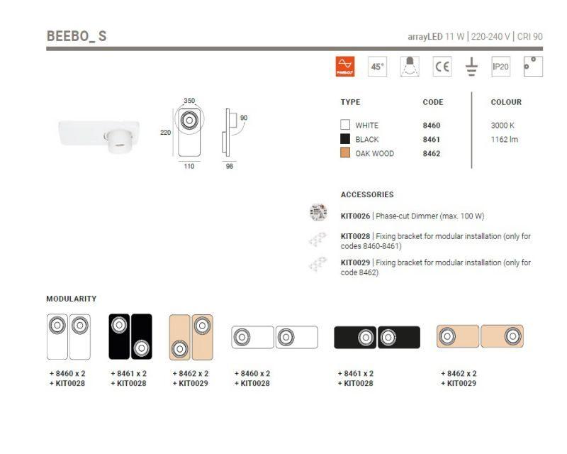 beebo-applique-led-plafone-orientabile-linealight