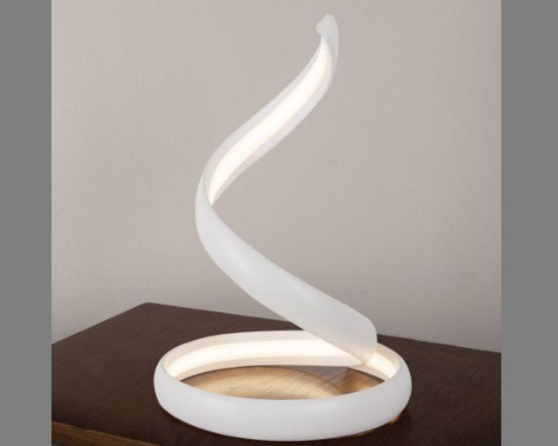 Lampade Da Ufficio A Led.Flame Vivida International Lampada Da Tavolo Led