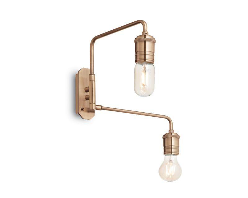 Triumph ideal lux lampada da parete industriale