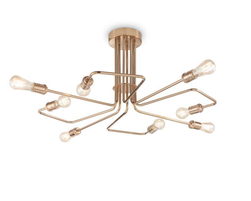 Plafoniere Classiche A Soffitto : Triumph ideal lux lampada da soffitto industriale