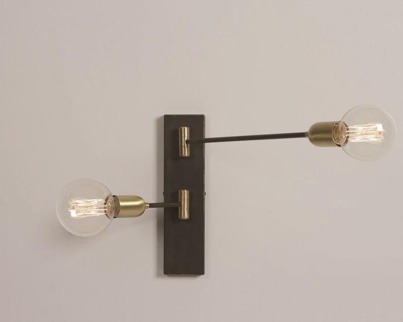 Ago gibas lampada da parete orientabile lightinspiration.it
