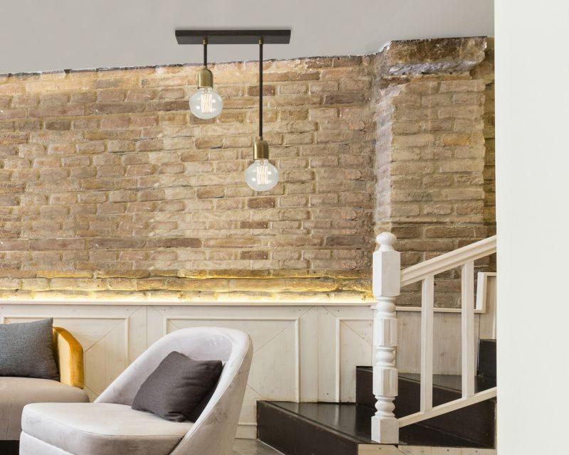 Plafoniere Stile Industriale : Ago gibas lampada da soffitto industriale lightinspiration.it