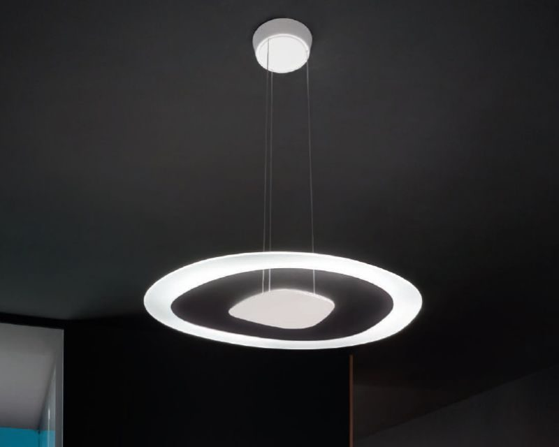 antigua-linealight-lampadario-led-bianco-di-design