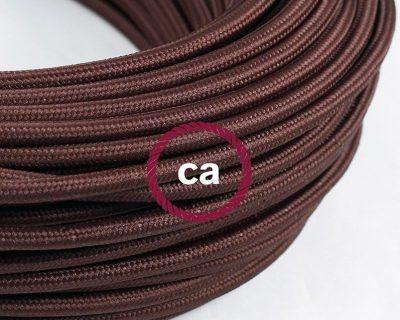 cavo-elettrico-rotondo-rivestito-in-tessuto-effetto-seta-tinta-unita-marrone-rm13
