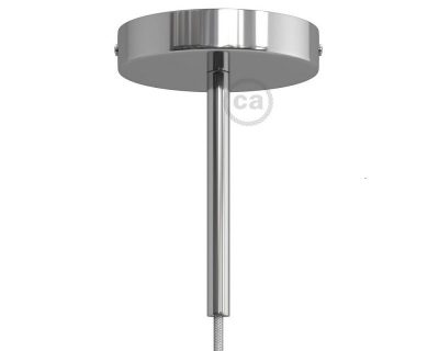 kit-rosone-120-mm-con-serracavo-cilindrico-lunghezza-15-cm-in-metallo-cromato