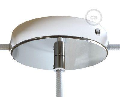 kit-rosone-in-metallo-cromato-120-mm-foro-centrale-e-2-laterali-con-serracavo-cilindrico-completo-di-accessori