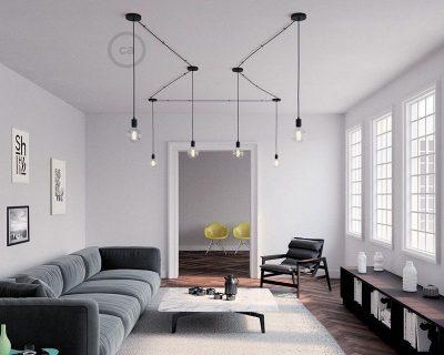 kit-rosone-in-metallo-nero-120-mm-foro-centrale-e-2-laterali-completo-di-accessori