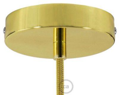 kit-rosone-ottonato-120-mm-con-serracavo-cilindrico-in-metallo-ottonato