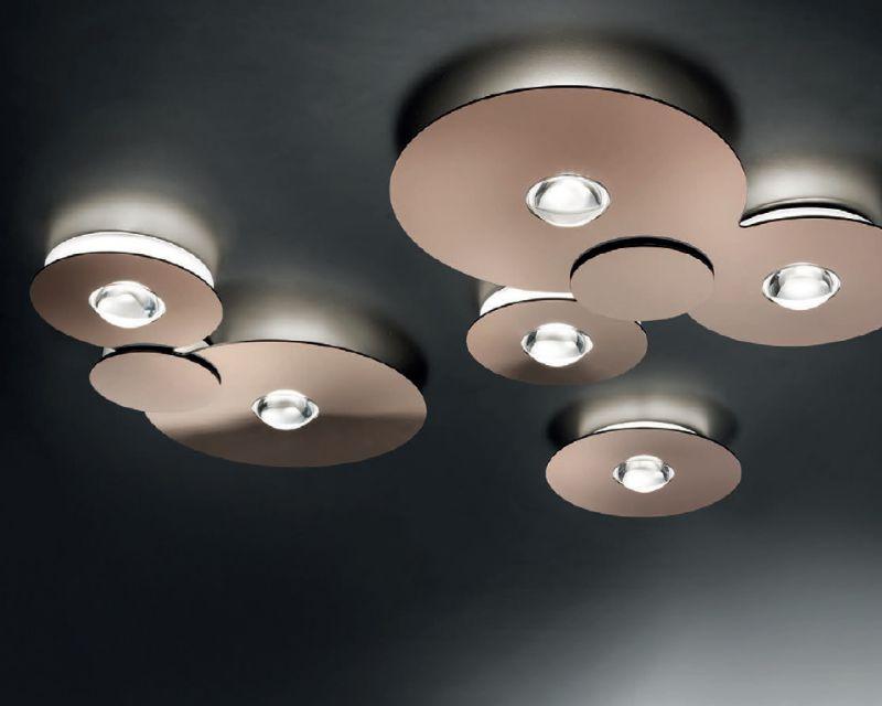 Plafoniere Da Soffitto Rotonde : Bugia studio italia design lampada a soffitto led
