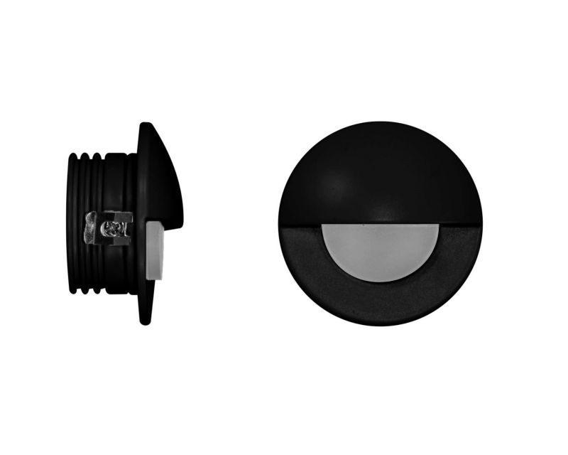 ilo-beneito-faretto-led-segnapasso-tondo-nero